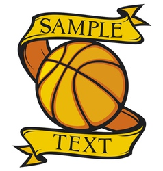 Basketball club emblem vector