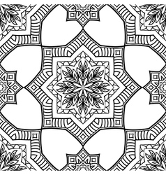Geometric pattern of mandala vector image
