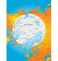 North pole vector image vector image