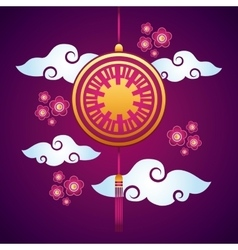 Chinese decoration hanging vector