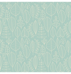 Seamless pattern with leaf abstract leaf texture vector image
