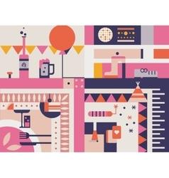 Celebration abstract concept vector