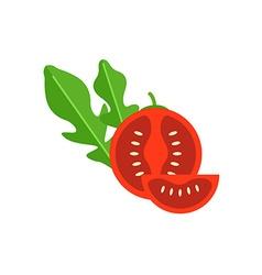 Cherry tomato vector