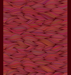Background with wave pattern vector