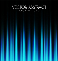 Blue lights abstract background vector