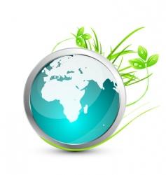 nature world icon vector image