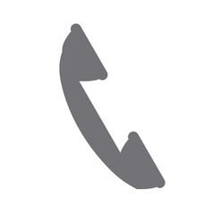 telephone service call device communication icon vector image
