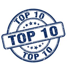 Top 10 stamp vector