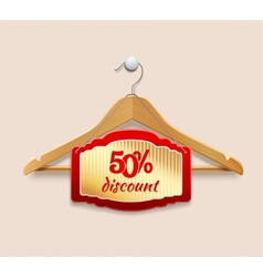 Clothes hanger discount vector image