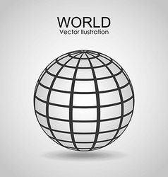 Earth planet design vector