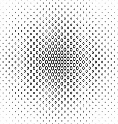 Monochrome ellipse ring pattern background design vector