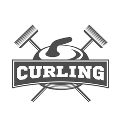 Vintage curling labels and design elements vector