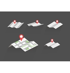 Maps with destination symbols set vector