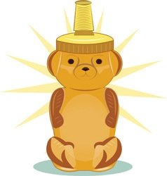 Honey Bear vector image