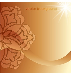 Decorative cover template sixty one vector