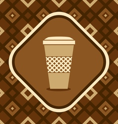Mug coffee vector