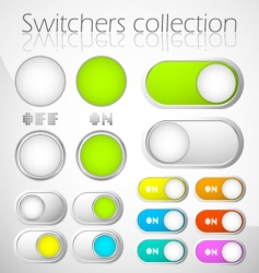 switchers collection vector image