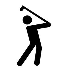 Golf symbol vector