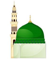 A mosque vector image vector image