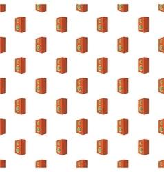 Music speaker pattern cartoon style vector