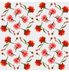 Texture of pink and red lilies elegant postcard vector image vector image