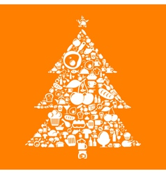 Meal a pine vector