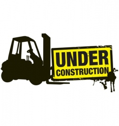Under construction vector