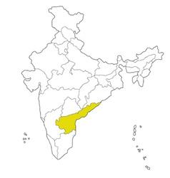 Andhra pradesh vector