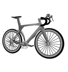 carbon bike vector image