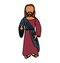Jesus christ catholic sac image vector