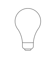 Light bulb idea creativity innovation icon vector