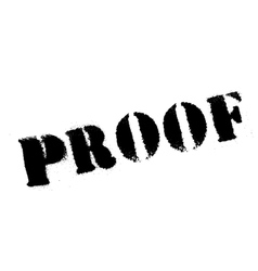Proof rubber stamp vector