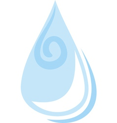 Water drop pattern vector