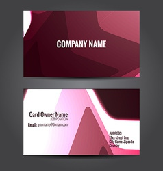Creative business template vector