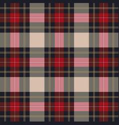 classic tartan plaid seamless pattern vector image vector image