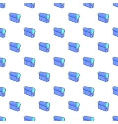 Film projector pattern cartoon style vector