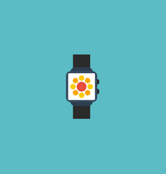 flat icon smart watch element vector image