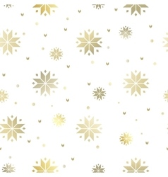The snowflakes pattern vector