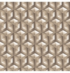 Hexagon pattern seamless background vector image vector image