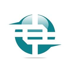 Logo company name design perfect vector