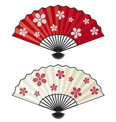 Oriental fan vector