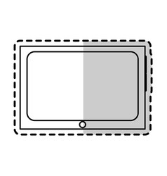 tablet gadget icon image vector image
