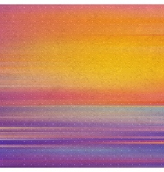 Vintage background with sunset abstract vector