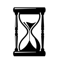 sand hourglass icon vector image