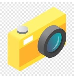Camera isometric 3d icon vector