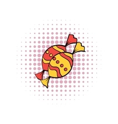 Candies comics icon vector image