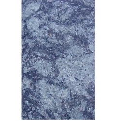 Polygonal marble sheet slab in mixed blue vector