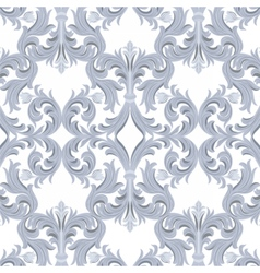 Vintage baroque luxury ornament pattern vector