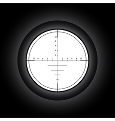 Sniper vector image