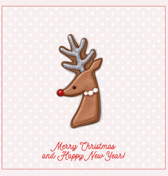 Christmas card vector
